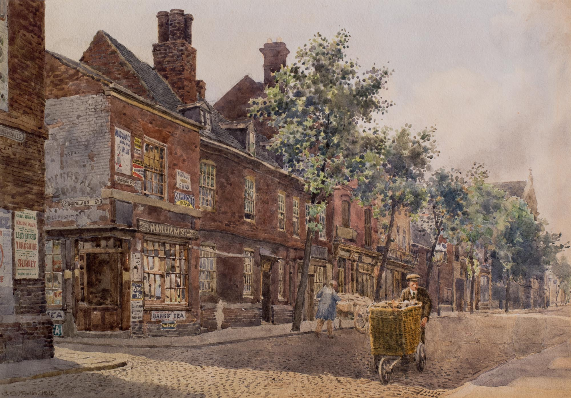 George M Henton Houses Highcross St
