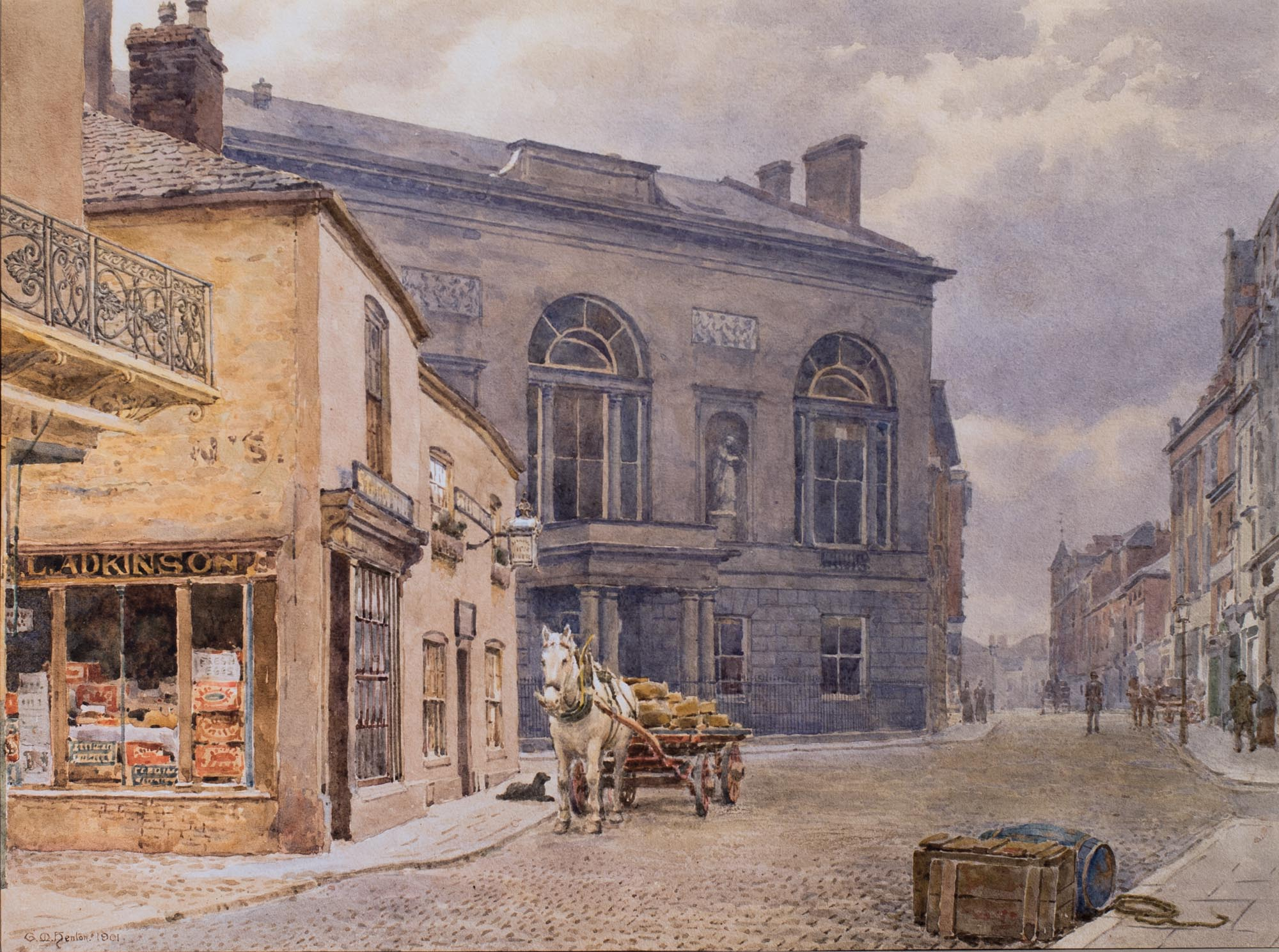 George M Henton County Assebly Rooms Old Saracens Head