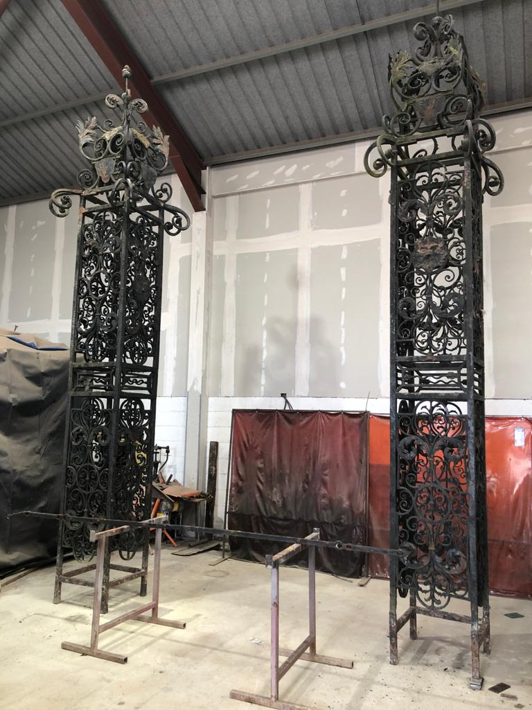 Historic Gate reconstruction 003