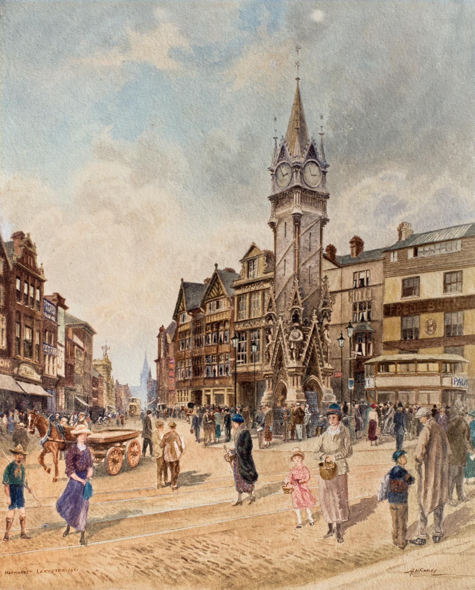 Albert Henry Findley The Haymarket